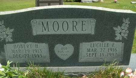 MOORE, HOBERT H - Fulton County, Arkansas | HOBERT H MOORE - Arkansas Gravestone Photos