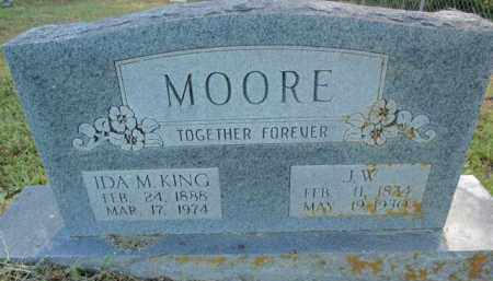MOORE, IDA M - Fulton County, Arkansas | IDA M MOORE - Arkansas Gravestone Photos