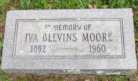 MOORE, IVA - Fulton County, Arkansas | IVA MOORE - Arkansas Gravestone Photos