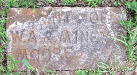 MOORE, INFANT - Fulton County, Arkansas | INFANT MOORE - Arkansas Gravestone Photos