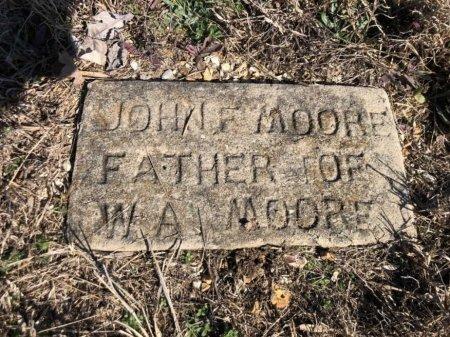 MOORE, JOHN FRANKLIN - Fulton County, Arkansas | JOHN FRANKLIN MOORE - Arkansas Gravestone Photos