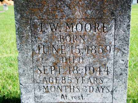 MOORE, J.W. - Fulton County, Arkansas | J.W. MOORE - Arkansas Gravestone Photos