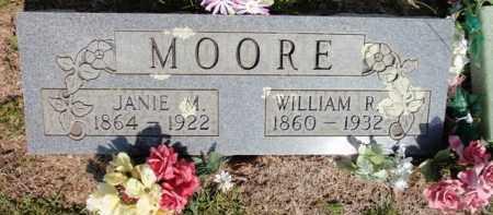MOORE, WILLIAM RILEY - Fulton County, Arkansas | WILLIAM RILEY MOORE - Arkansas Gravestone Photos