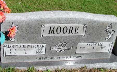 MOORE, JANET SUE - Fulton County, Arkansas | JANET SUE MOORE - Arkansas Gravestone Photos