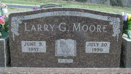 MOORE, LARRY G. - Fulton County, Arkansas | LARRY G. MOORE - Arkansas Gravestone Photos