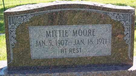 COUCH MOORE, MITTIE - Fulton County, Arkansas | MITTIE COUCH MOORE - Arkansas Gravestone Photos