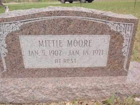 MOORE, MITTIE - Fulton County, Arkansas | MITTIE MOORE - Arkansas Gravestone Photos