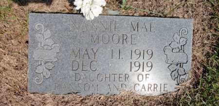 MOORE, NANNIE MAE - Fulton County, Arkansas | NANNIE MAE MOORE - Arkansas Gravestone Photos