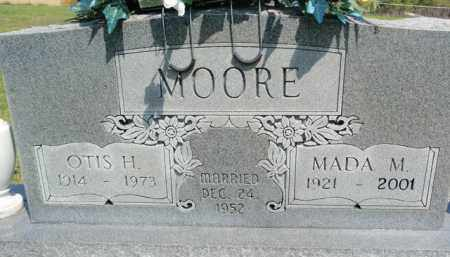 MOORE, OTIS HARRISON - Fulton County, Arkansas | OTIS HARRISON MOORE - Arkansas Gravestone Photos
