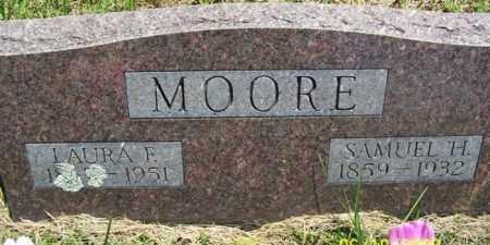MOORE, LAURA F. - Fulton County, Arkansas   LAURA F. MOORE - Arkansas Gravestone Photos
