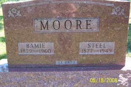MOORE, STEEL - Fulton County, Arkansas   STEEL MOORE - Arkansas Gravestone Photos