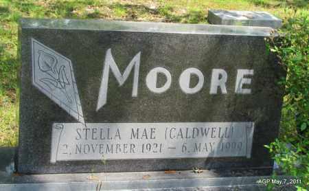 MOORE, STELLA MAE - Fulton County, Arkansas   STELLA MAE MOORE - Arkansas Gravestone Photos