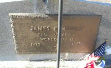 MOORE (VETERAN WWII), JAMES FREDRICK - Fulton County, Arkansas | JAMES FREDRICK MOORE (VETERAN WWII) - Arkansas Gravestone Photos