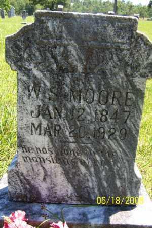 MOORE, W. S. - Fulton County, Arkansas | W. S. MOORE - Arkansas Gravestone Photos