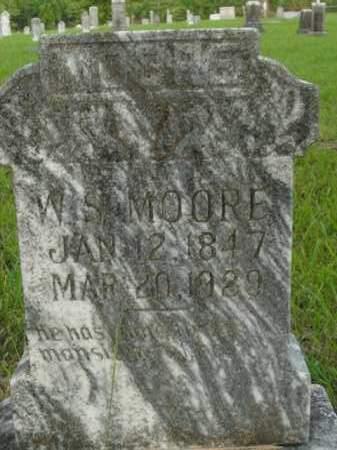 MOORE, WILLIAM SHAW - Fulton County, Arkansas   WILLIAM SHAW MOORE - Arkansas Gravestone Photos