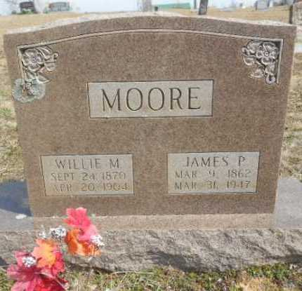 MOORE, WILLIE M. - Fulton County, Arkansas | WILLIE M. MOORE - Arkansas Gravestone Photos