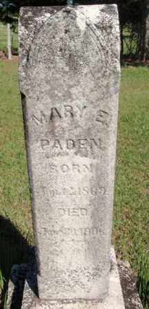 PADEN, MARY E - Fulton County, Arkansas   MARY E PADEN - Arkansas Gravestone Photos
