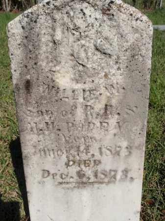 PADEN, WILLIE W - Fulton County, Arkansas | WILLIE W PADEN - Arkansas Gravestone Photos