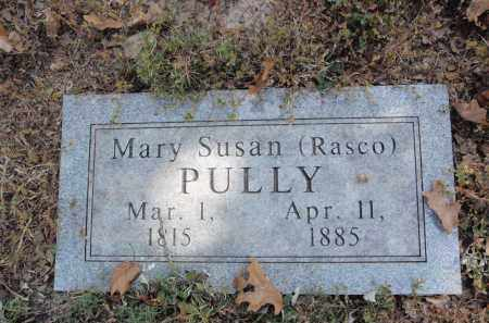 PULLY, MARY SUSAN - Fulton County, Arkansas | MARY SUSAN PULLY - Arkansas Gravestone Photos