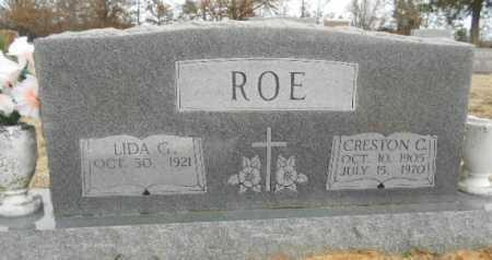 ROE, CRESTON CLIFFORD - Fulton County, Arkansas | CRESTON CLIFFORD ROE - Arkansas Gravestone Photos