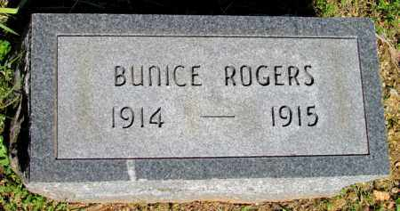 ROGERS, BUNICE - Fulton County, Arkansas | BUNICE ROGERS - Arkansas Gravestone Photos