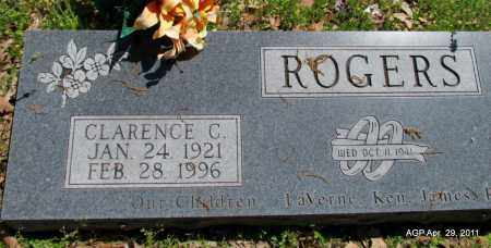 ROGERS, CLARENCE C - Fulton County, Arkansas | CLARENCE C ROGERS - Arkansas Gravestone Photos