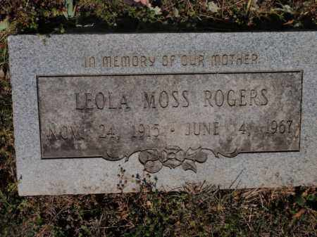 ROGERS, LEOLA - Fulton County, Arkansas | LEOLA ROGERS - Arkansas Gravestone Photos