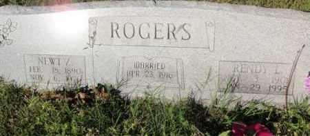 ROGERS, RENDY L - Fulton County, Arkansas   RENDY L ROGERS - Arkansas Gravestone Photos