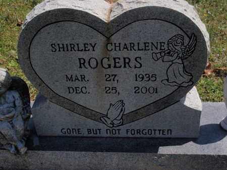 ROGERS, SHIRLEY CHARLENE - Fulton County, Arkansas   SHIRLEY CHARLENE ROGERS - Arkansas Gravestone Photos