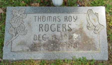ROGERS, THOMAS ROY - Fulton County, Arkansas | THOMAS ROY ROGERS - Arkansas Gravestone Photos