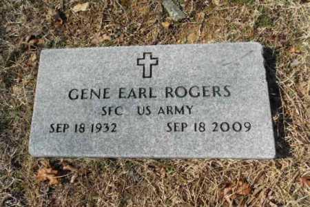 ROGERS (VETERAN), GENE EARL - Fulton County, Arkansas   GENE EARL ROGERS (VETERAN) - Arkansas Gravestone Photos