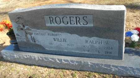 LANDRUM ROGERS, WILLIE - Fulton County, Arkansas   WILLIE LANDRUM ROGERS - Arkansas Gravestone Photos