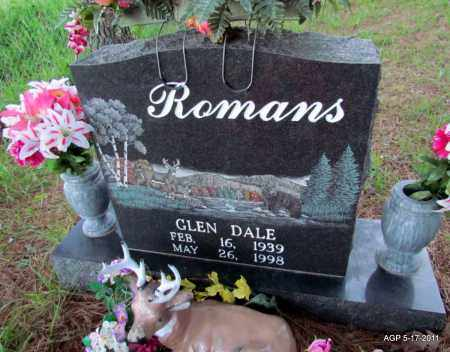 ROMANS, GLEN DALE - Fulton County, Arkansas | GLEN DALE ROMANS - Arkansas Gravestone Photos
