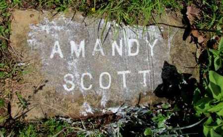 SCOTT, AMANDY - Fulton County, Arkansas | AMANDY SCOTT - Arkansas Gravestone Photos