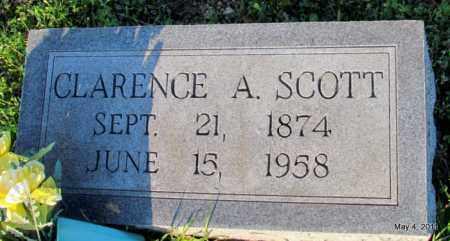 SCOTT, CLARENCE AUGUSTA - Fulton County, Arkansas | CLARENCE AUGUSTA SCOTT - Arkansas Gravestone Photos