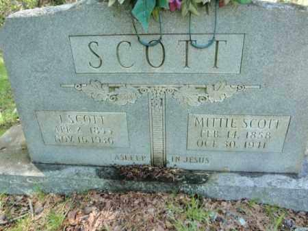 SCOTT, MITTIE - Fulton County, Arkansas   MITTIE SCOTT - Arkansas Gravestone Photos