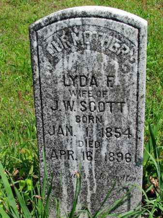 SCOTT, LYDA F - Fulton County, Arkansas | LYDA F SCOTT - Arkansas Gravestone Photos