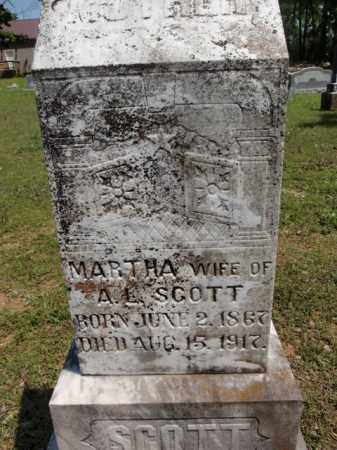 SCOTT, MARTHA - Fulton County, Arkansas | MARTHA SCOTT - Arkansas Gravestone Photos