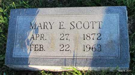 SCOTT, MARY E - Fulton County, Arkansas | MARY E SCOTT - Arkansas Gravestone Photos