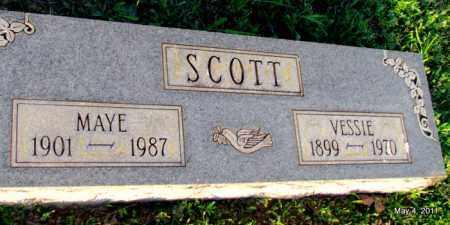SCOTT, VESSIE - Fulton County, Arkansas | VESSIE SCOTT - Arkansas Gravestone Photos