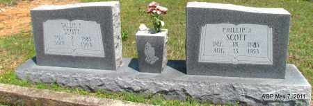 SCOTT, PHILLIP J. - Fulton County, Arkansas | PHILLIP J. SCOTT - Arkansas Gravestone Photos