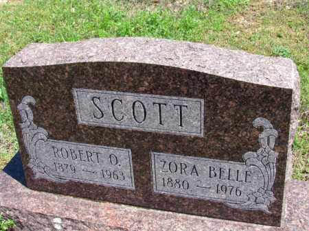 SCOTT, ZORA BELLE - Fulton County, Arkansas | ZORA BELLE SCOTT - Arkansas Gravestone Photos