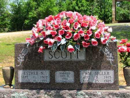 SCOTT, ESTHER N. - Fulton County, Arkansas | ESTHER N. SCOTT - Arkansas Gravestone Photos