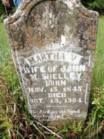 SHELLEY, MARTHA V - Fulton County, Arkansas | MARTHA V SHELLEY - Arkansas Gravestone Photos