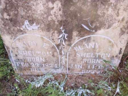 SHELTON, BLANY S - Fulton County, Arkansas | BLANY S SHELTON - Arkansas Gravestone Photos