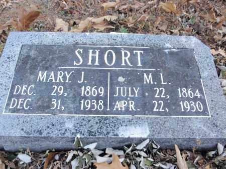 SHORT, MARY J. - Fulton County, Arkansas | MARY J. SHORT - Arkansas Gravestone Photos
