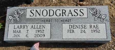 SNODGRASS, LARRY ALLEN - Fulton County, Arkansas | LARRY ALLEN SNODGRASS - Arkansas Gravestone Photos
