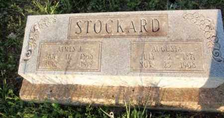 STOCKARD, AUGUSTA (SECOND STONE) - Fulton County, Arkansas | AUGUSTA (SECOND STONE) STOCKARD - Arkansas Gravestone Photos