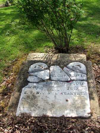TRANTHAM, UNKNOWN - Fulton County, Arkansas | UNKNOWN TRANTHAM - Arkansas Gravestone Photos