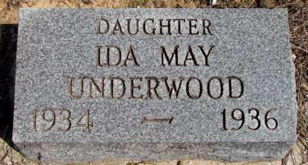 UNDERWOOD, IDA MAY - Fulton County, Arkansas   IDA MAY UNDERWOOD - Arkansas Gravestone Photos
